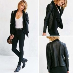 BB Dakota Sarafina faux leather jacket